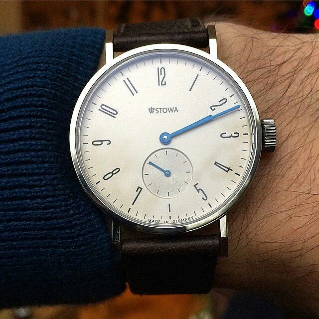 Simple design but having nothing to envy. The Stowa Antea KS ($1,017.90) is beautifully crafted in germany. | Stay Classy.