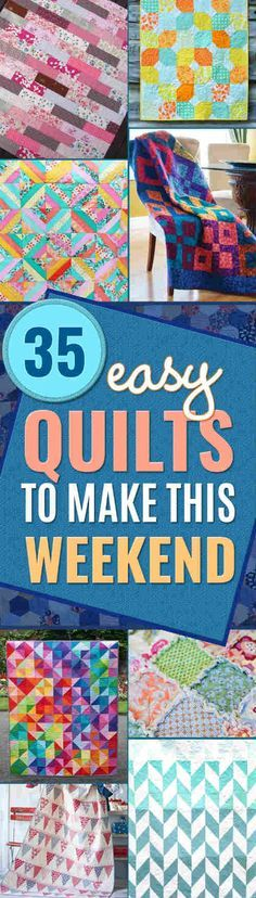 35 Easy Quilts to Make This Weekend