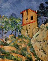 """""""The House with Cracked Walls"""" was painted in the late 19th century."""