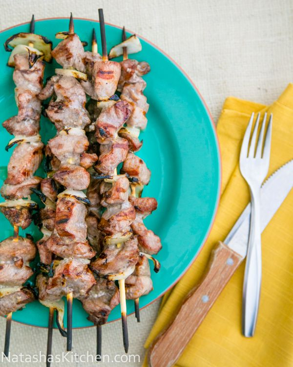 Pork Skewers (Shashlik) #Russian_recipes #Russian_food