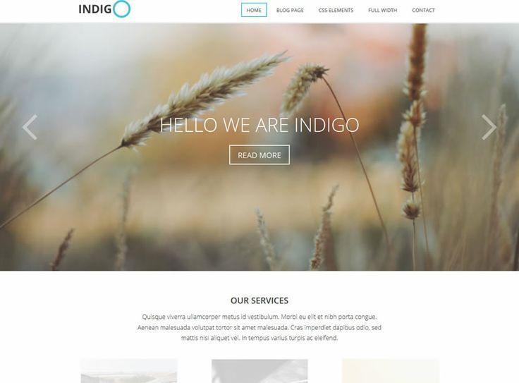 Szablon WordPress Indigo dla firmy, agencji, portfolio - http://trejka.pl/szablon-wordpress-indigo-dla-firmy-agencji-portfolio/