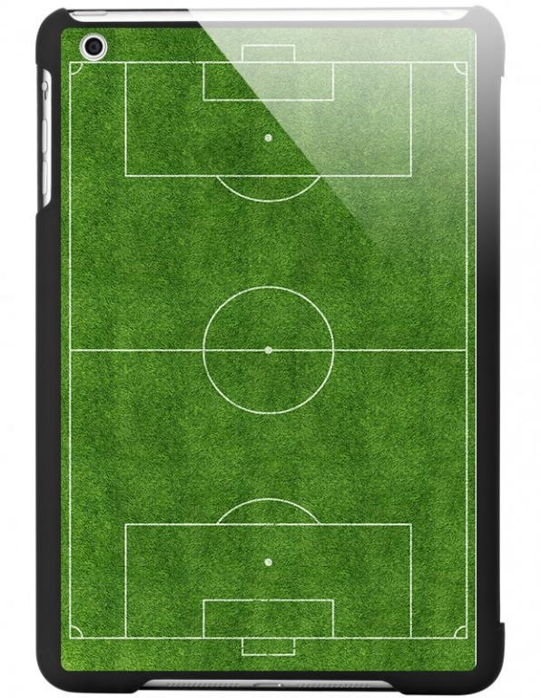Fajne Czarne etui iPad mini boisko piłka nożna!