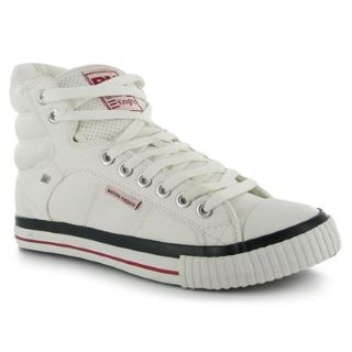 ATOLL PU MID SKATE BIANCO ROSSO
