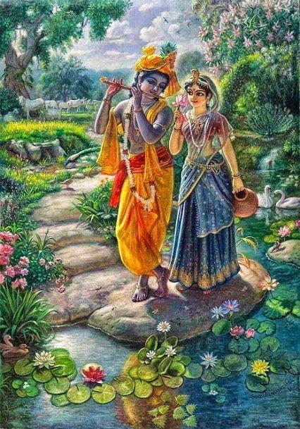 Lord Krishna Painting, India