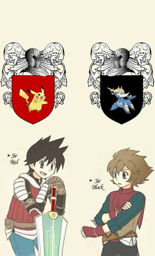 Red and Black/hilbert  Knight  Rouge/Red et Noir/Ludwig chevalier .