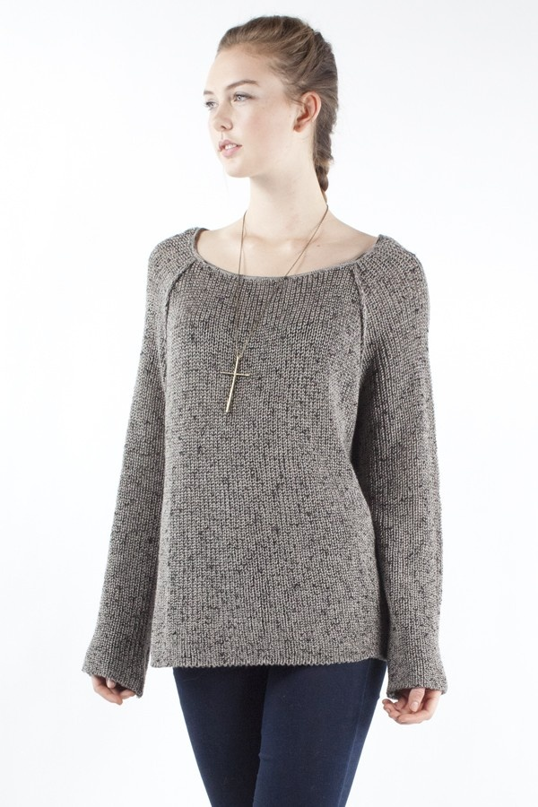 Another super basic, drapey sweater. Brandy & Melville.