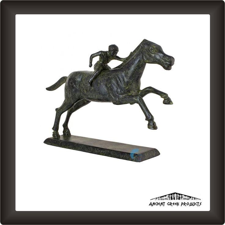 Ancient Greek Art - Jockey Of Artemision 20cm - 2000gr