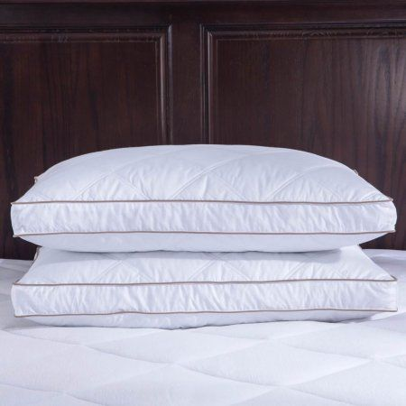 Quilted Feather Down Pillow