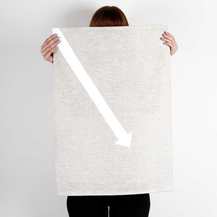 Image of ARROW TEA TOWEL