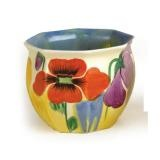 Clarice Cliff Flower Pot