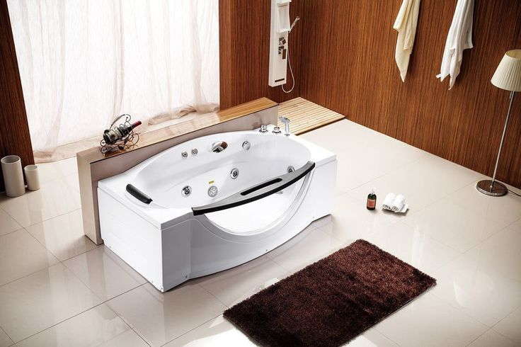 25 best ideas about soaking tubs on pinterest small - Whirlpool tubs for small bathrooms ...