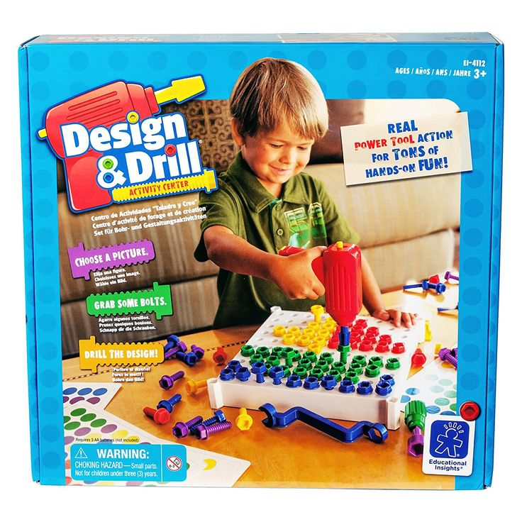 Amazon.com: EDUCATIONAL INSIGHTS DESIGN & DRILL ACTIVITY CENTER: Toys & Games