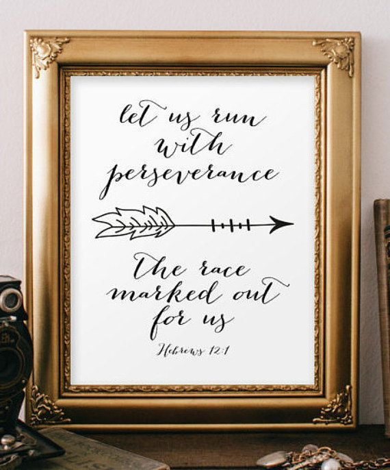 Scripture verse print Printable verses bible by TwoBrushesDesigns