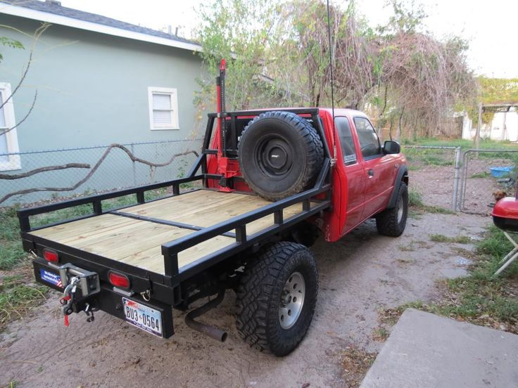 how to build a flatbed for a truck plans