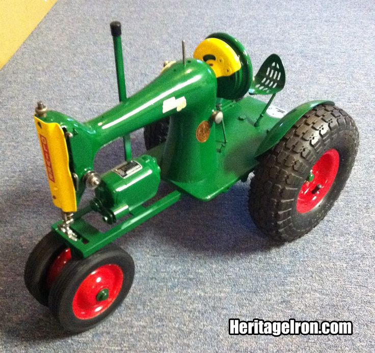 Metal Tractor Pin : Best sewing machine tractors images on pinterest