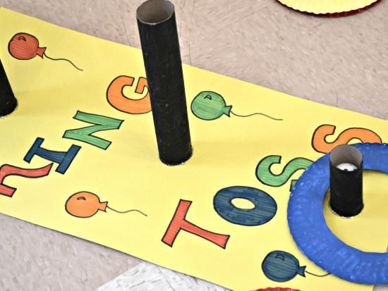 DIY Carnival Party Games