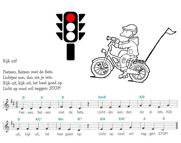 liedje kijk uit / verkeerslicht