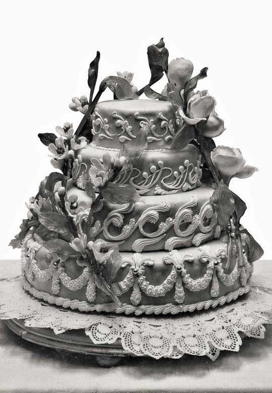 Rosa Salva - Wedding Cake