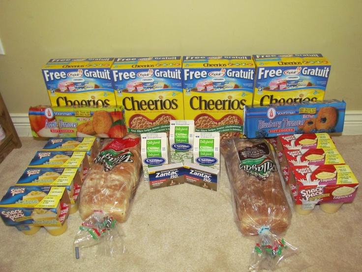 Couponing in Canada: My Walmart Trip ~ November 5, 2012 Total Paid $25.26 (~60% savings)