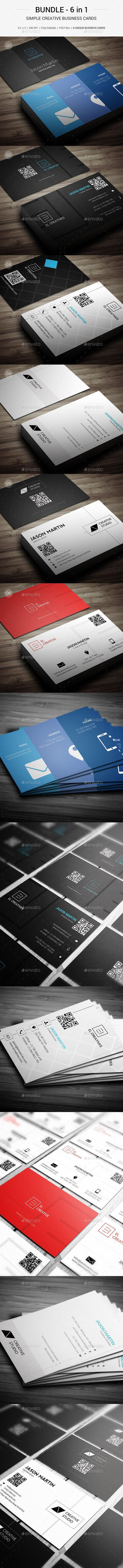 The 25 best simple business cards ideas on pinterest business bundle creative simple business cards 144 magicingreecefo Images