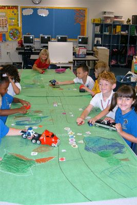 transportation unit- road maps--beginning maps for Pre-K and K i love this!