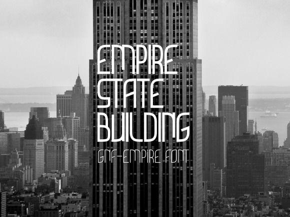 GNF-Empire by george.nikolaidis on @creativemarket