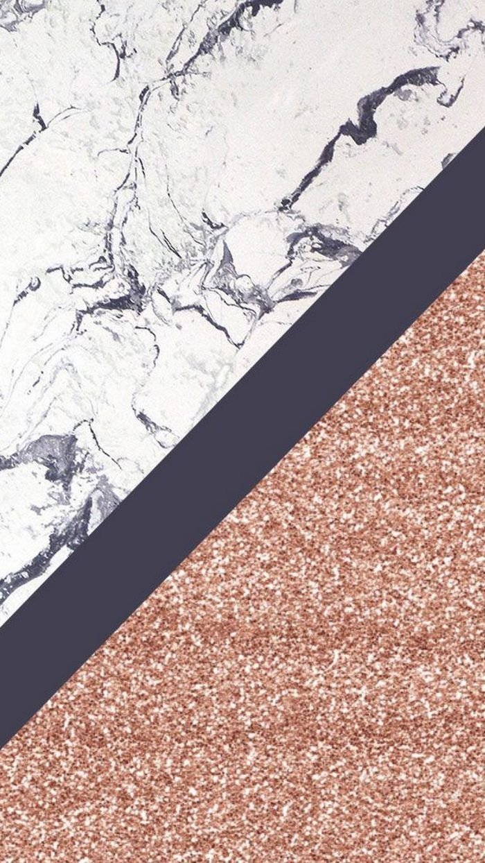 Iphone 6 Wallpaper Rose Gold Marble Tapete Gold Marmor