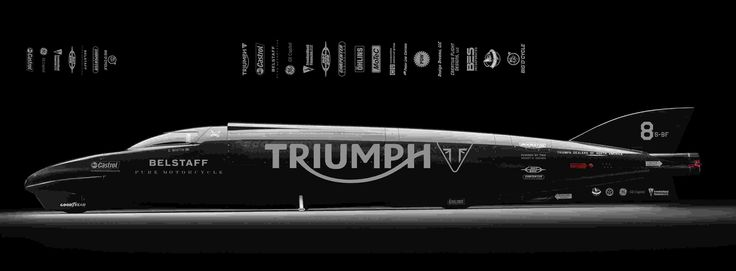 Guy Martin and Triumph want to break the land speed record at Bonneville