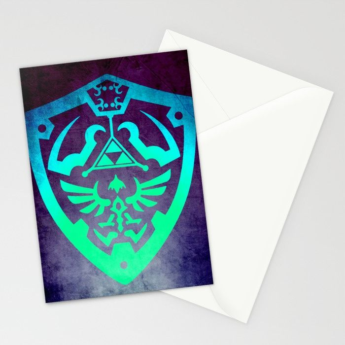 Zelda Shield Stationery Cards & Greeting Cards 30% OFF + Free Shipping  - Ends Tonight at Midnight PT! From: $15.99 NOW---> $11.19 !!  Zelda Shield Xmas Cards. #save #sales #discount #freeshipping #cards #postcard #xmascard #geekxmas #christmascard #stationerycards #thelegendofzelda #society6 #family #kids #online #shopping #zeldacards #gaming #gamer #gifts #xmasgifts #christmasgifts #giftsforhim #giftsforher #39