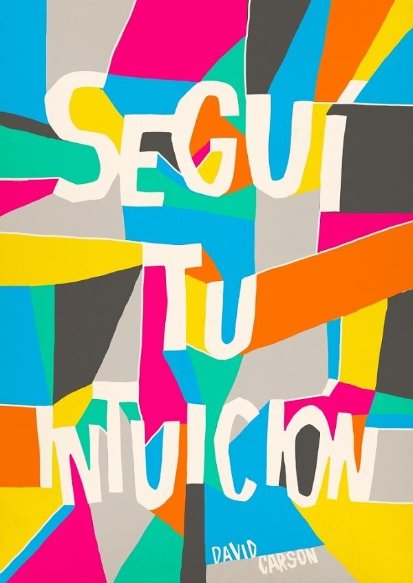 Designspiration — David Carson | 2012 Poster Book by 22DG