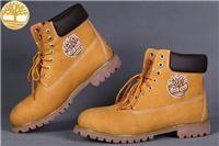 Custom Wheat-Black 6 Inch Hiking Boots Timberland Men