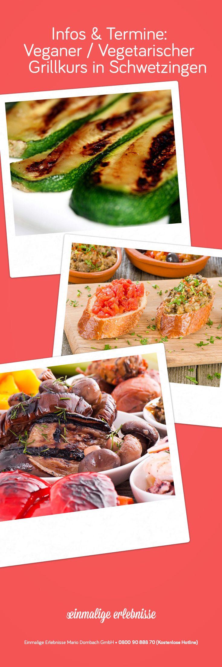 Veganer / Vegetarischer Grillkurs in Schwetzingen #Rezepte #grillen #Kochkurs