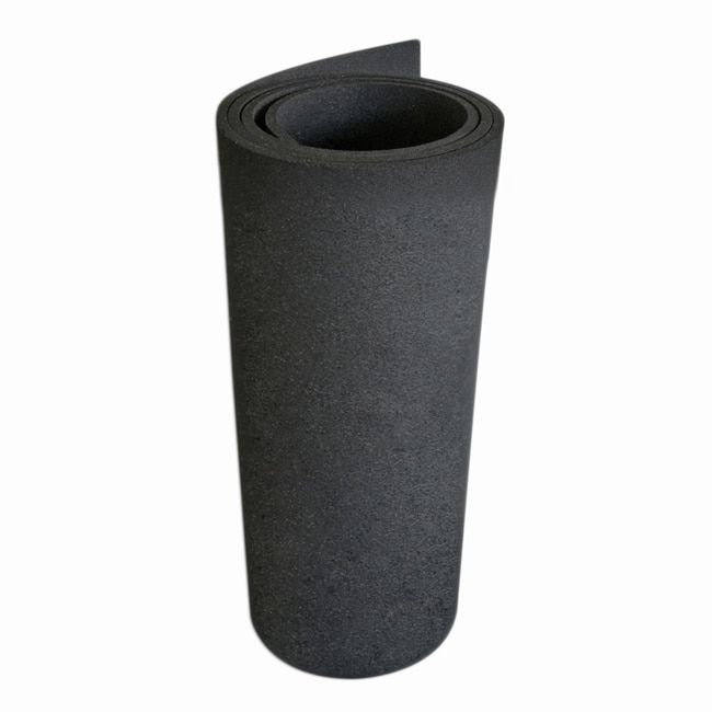 "Rubber-Cal Treadmill Mat - 3/16"" thick x 4ft wide - 6.5 or 7.5ft length Mats for Treadmill Machines"