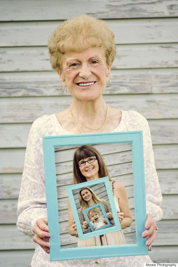 Nice Gifts For Mom Part - 40: The Most Amazing Multi-generational Picture! Perfect Motheru0027s Day Present |  Motheru0027s Day |