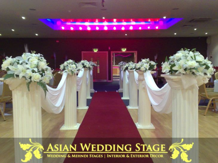 1000 Images About Church Decorations Wedding On Pinterest