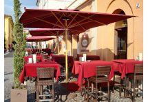 ombrellone per ristoranti all'aperto