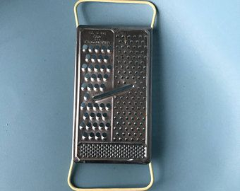 Vintage Cheese Grater / 1960s Foley Grater / Stainless Steel Grater / Modern Farmhouse Kitchen Tool / Antique Kitchen Tools / Food Slicer