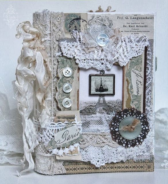 Shabby Chic Inspired: Oh là là The inside pages are just as gorgeous!