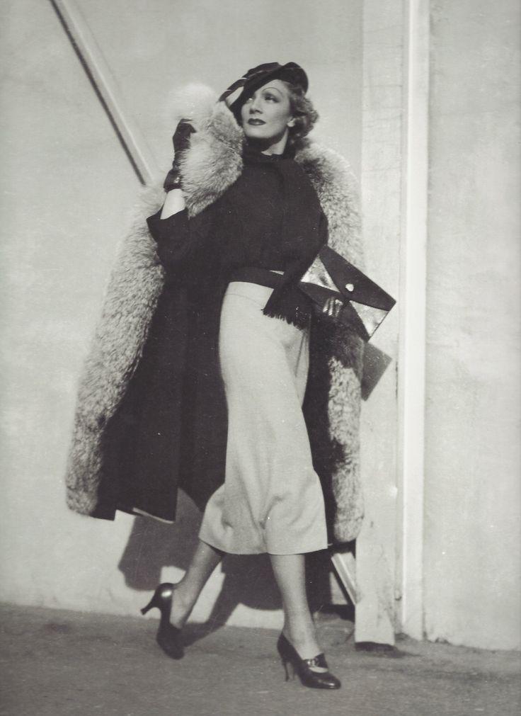 Marlène Dietrich, New York, 1930