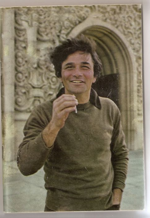 Peter Falk  i kissed him and got his autograph!  when he testified in Toms River court!