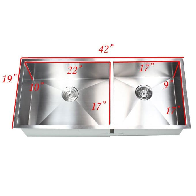 Overstock Com Online Shopping Bedding Furniture Electronics Jewelry Clothing More Stainless Steel Kitchen Sink Undermount Undermount Kitchen Sinks Double Bowl Kitchen Sink