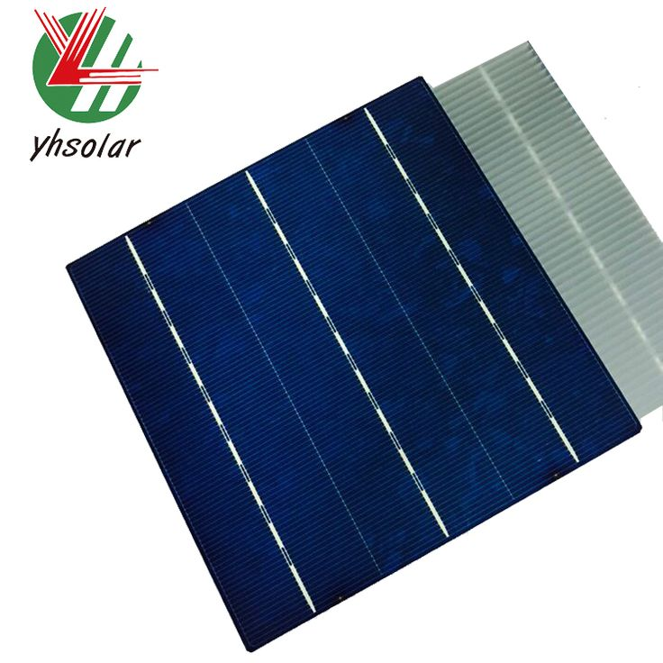 Chinese trina high efficiency 156*156mm poly cheap solar cell for sale