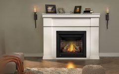 Gas Fireplace Mantle Imperial Gas Fireplace Mantel  Napoleon