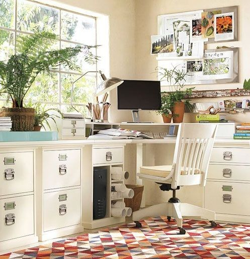21 Feminine Home Office Designs Decorating Ideas: 1000+ Ideas About Feminine Home Offices On Pinterest