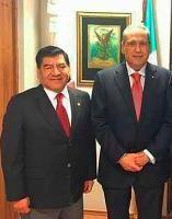 Mario Marín y Beltrones se reúnen en el CEN del PRI para intentar salvar campaña de Blanca Alcalá