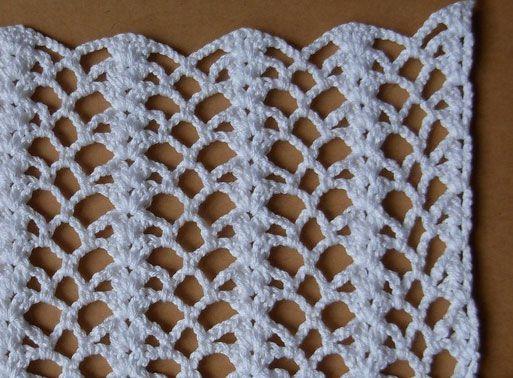 Crochet Stitch Pattern 3 - Knitting Bee