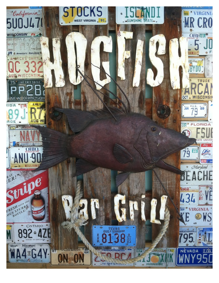 Hogfish Bar & Grill, Stock Island, FL..our family fav. Bar grill off the beaten path(;