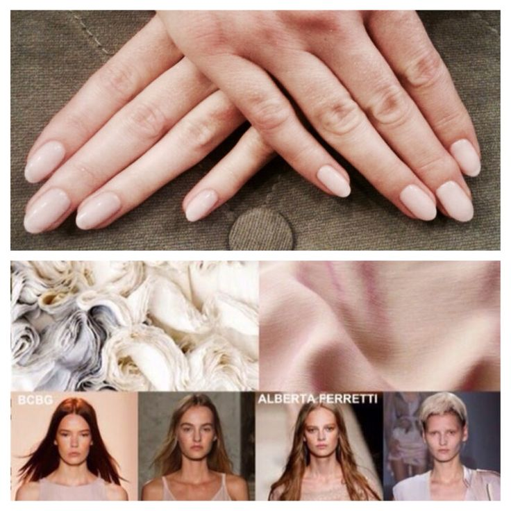 Gelish Hybryd Nude Nails