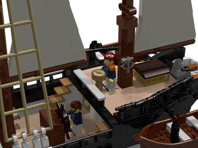 LEGO Ideas - HMS Beagle