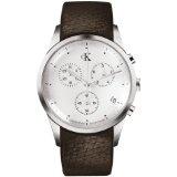 Calvin Klein Quartz, Brown Band White Dial - Men's Watch K2227120 (Watch)By Calvin Klein